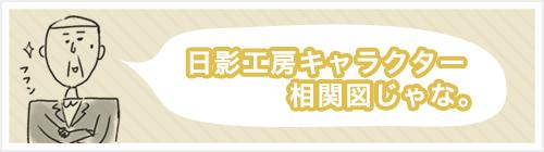 日影工房キャラクター相関図